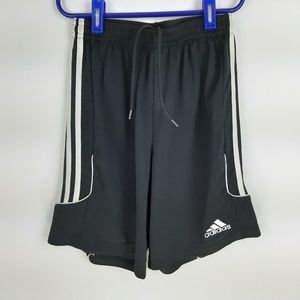 Adidas Climalite Boys Athletic Shorts Size XL Blac
